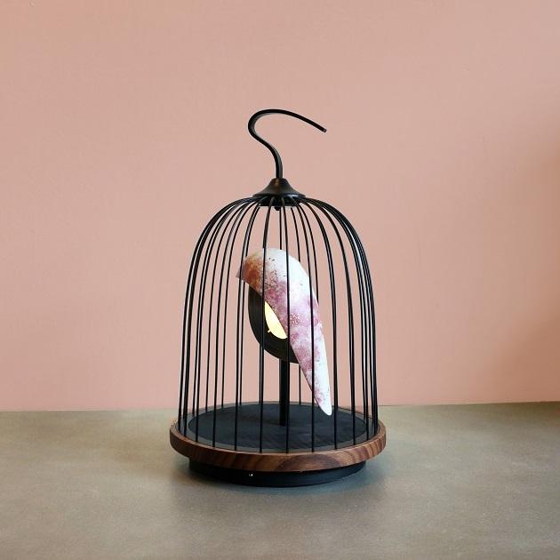 無線音響燈-櫻花鳥 1